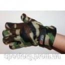 Перчатка флисовая с подкладкой мужская (камуфлированная)