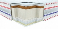 Матрас Neolux Галант кокос-латекс 3D 140х200 - беспружинный матрас