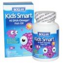 Bioglan, Умные детки, Рыбий жир с высоким содержанием Омега-3. 30 жевательных дражже