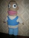 Вязаная кукла.Гомер Симпсон.