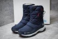 Зимние ботинки в стиле Columbia Keep warm, темно-синий (30282),  [  37 (последняя пара)  ]
