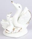 Статуэтка фарфоровая декоративная «Лебеди» 9см