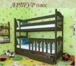 Детская кровать АРТУР ПЛЮС (двухъярусная)