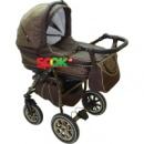 Универсальная коляска 2 в 1 Anmar Eliss New 01 Темно-зеленый