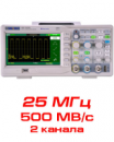 SDS1022DL Цифровой осциллограф, 25 МГц
