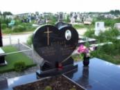 Памятник c фото на керамике №5