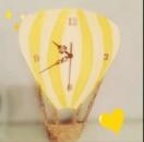 Часы « Шар желтый»