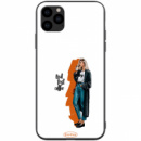 TPU+PC чехол ForFun для Apple iPhone 11 Pro (5.8«) But first coffee / белый
