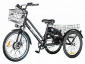 Электровелосипед трехколесный грузовой BIG HAPPY