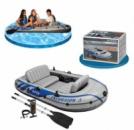 Трехместная надувная лодка Excursion 3 Intex 68319