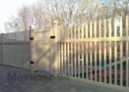 Пластиковый забор-штакетник из ПВХ 1,50 м