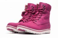 Зимние ботинки на меху Timberland, малиновые (3190-4),  [  38 39 41  ]