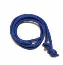 Гимнастическая скакалка диаметр 10 мм. синяя 3 метра, из синтетического материала полипропилена.