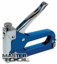 Степлер пружинный для скобы 4-14 мм 11,3*0,7мм, плавная регулировка силы удара, корпус металл MasterTool 41-0905