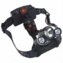 Налобный фонарь Police RJ-3000 (Cree T6+2Q5, 1600 люмен, 4 режима работы, 2 зарядных устройства 2x18650)