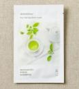 My Real Squeeze Mask - корейская тканевая маска - с экстрактом зеленого чая