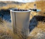 Гриль напольный угольный с плоской крышкой, диаметр 59 см