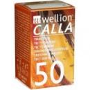 Wellion Calla Тест-смужки для визначення рівня глюкози в крові 50 шт