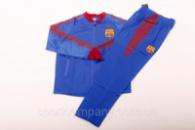 Спортивный (тренировочный) костюм «Барселона»  (1076)(реплика)