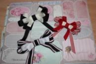 Бант-брошь, галстук-бабочка женская
