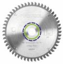 Пильный диск с трапецевидными плоскими зубьями для алюминия TF 52 Festool