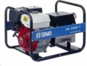 Генератор бензиновый SDMO HX 5000 T-S 4 кВт трехфазный