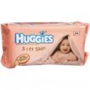 Детские влажные салфетки Huggies Soft Skin 64шт.