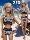 Купальник для кукол Барби