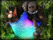Светящаяся подушка «Звездочка».