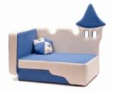 Детский диван для мальчика «Зимний замок», Львов