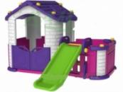 Игровой домик с горкой To Baby 354