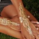 14-15/2 Флеш тату/ Flash tattoo/ Временная тату/ водонепроницаемый татуировки/ наклейки Body Art