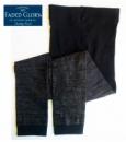 Лосины (леггинсы) черные с люрексом однотонные для девочек, бренд «Faded Glory» (США)