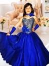 Прокат платья «Синее» на выпуск в детский сад.