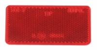 13-05-08-0062 Светоотражатель самокл. красный 92x47mm (Mega)
