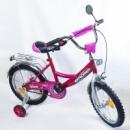 Двухколесный велосипед EXPLORER BT-CB-0032 16« малиновый с серебрянны