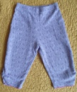 классные штаны mini mode 6-9 мес. 68-74 см. (ткань супер)