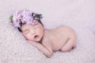 Віночок «Щастя для мами-посмішка немовляти, що місяцями носила під серцем...»
