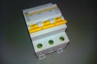 Автоматический выключатель 3р 6А ИЕК ВА47-29