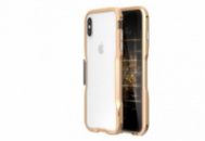 Бампер Luphie Ultra Luxury для iPhone X Gold (AL1502)