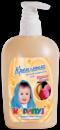 Крем-мило для детей Карапуз Персик-банан - 400 мл, Крем-мыло для детей Персик-банан