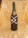 Украшение на бутылку«жених»