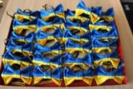 Краватка-метелик жовто-блакитний «Прапор України»