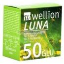 Wellion Luna Тест-смужки для визначення рівня глюкози в крові 50 шт