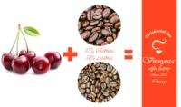 Кава зернова ароматизована Вінницька Фарбрика Кави Китайська Вишня 1000 гр.