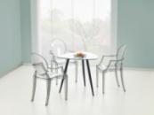 Стол со стеклянной столешницей «ARTEMIS»