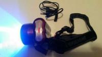 Долгоиграющий налобный ультрафиолетовый фонарь для Янтаря(390 - 395 N)