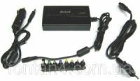 Универсальное зарядное для ноутбуков 8 насадок 12-24В от 220В и авто.