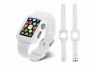 Ремешок-чехол Grand для смарт-часов Apple Watch 42 мм Sport White (Al758)