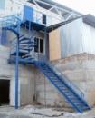 Лестница металлическая (лм-6)